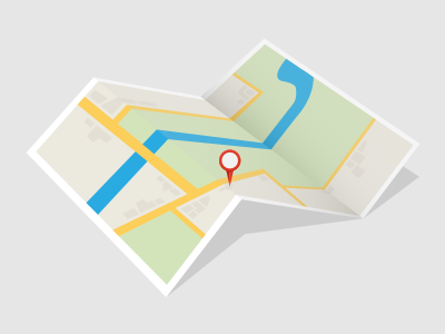 Map illustration illustration illustrator map