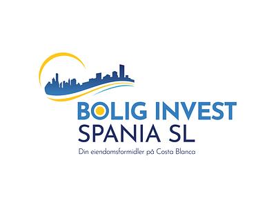 Bolig Invest logo branding logo design logo