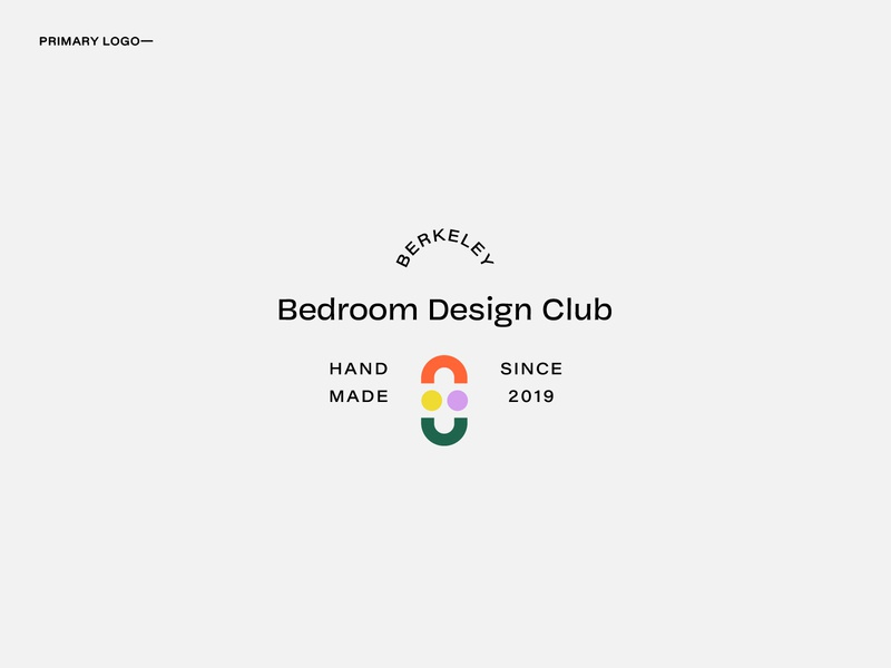 Bedroom Design Club Logo Option 1 business card abstract typogaphy mark logotype branding design branding logodesign logo