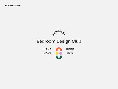 Bedroom Design Club Logo Option 1 business card abstract typogaphy mark logotype branding design branding logodesign logo