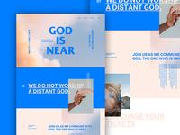 God is Near —Web