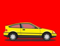 Honda CR-X Si