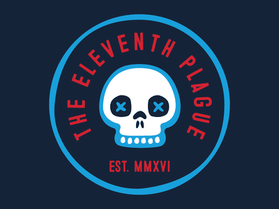 The Eleventh Plague skull