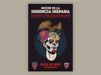 Indy Eleven Hispanic Heritage Night Poster - Full