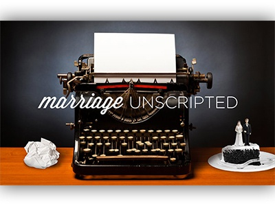 Marriage Unscripted marriage unscripted typewriter cake