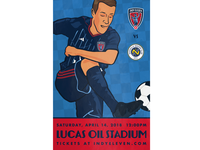 Indy Eleven Poster - 4/14/18