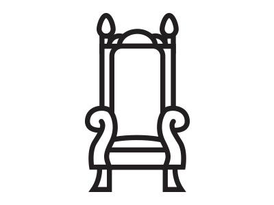 Throne throne illustration