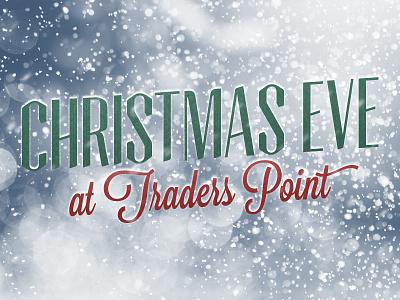 Christmas Eve At Traders Point christmas christmas eve snow tommaso lavanderia