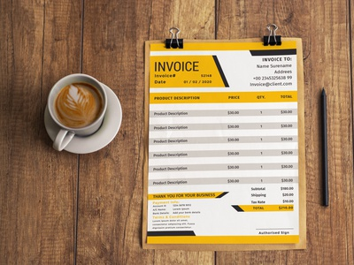 Free Invoice Template With 4 Colors free resume template company invoice invoice free minimal invoice template free invoice template invoice template