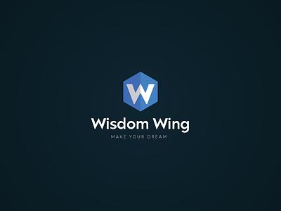 wisdom wing abstract logo logos wing logo wisdom logo app ui icon minimalism minimalist abstract logo logo logo design design concept brand identity illustration branding creative typography minimal logotype
