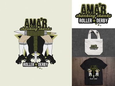 Logo design: AMAGER stickers vector illustration design logo vector illustration branding illustrator