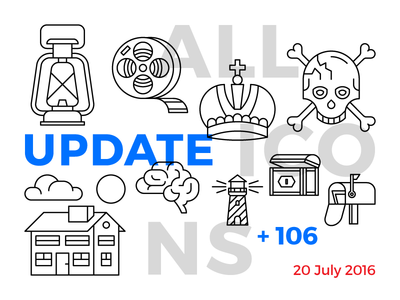 Allicons, second update