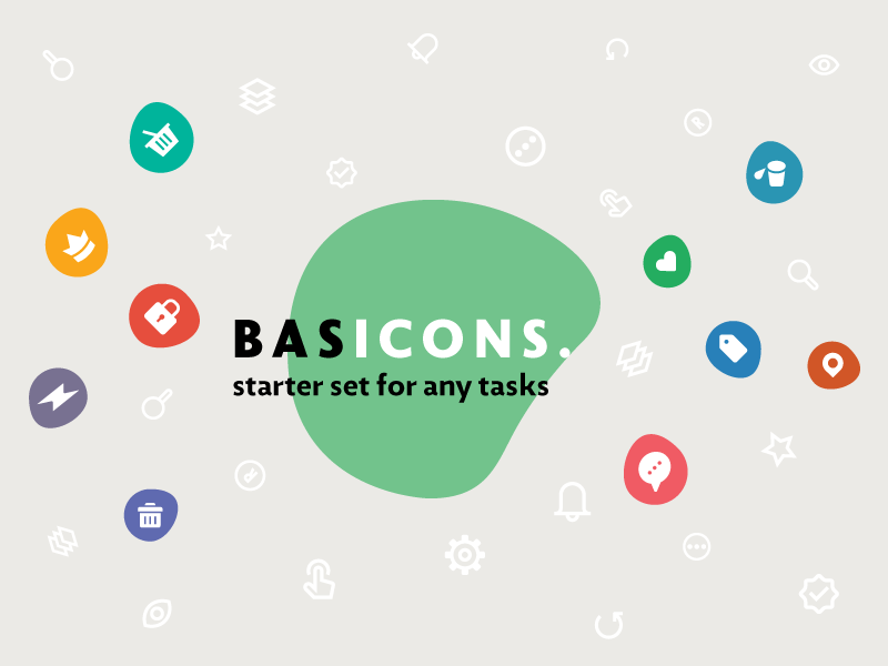 Basic — 500 Line and Solid Icons interface mixed collection set bundle icons solid line basic