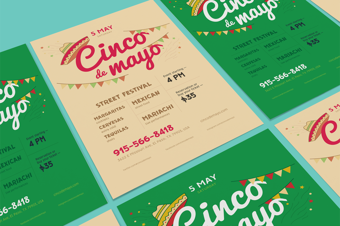 Cinco de mayo poster preview  ee  1170x780px 01
