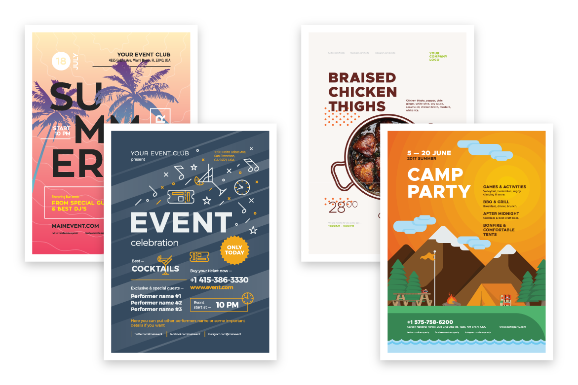 Poster bundle preview  ee  1170x780px 03