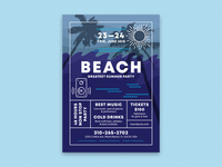 Beach Poster Poster