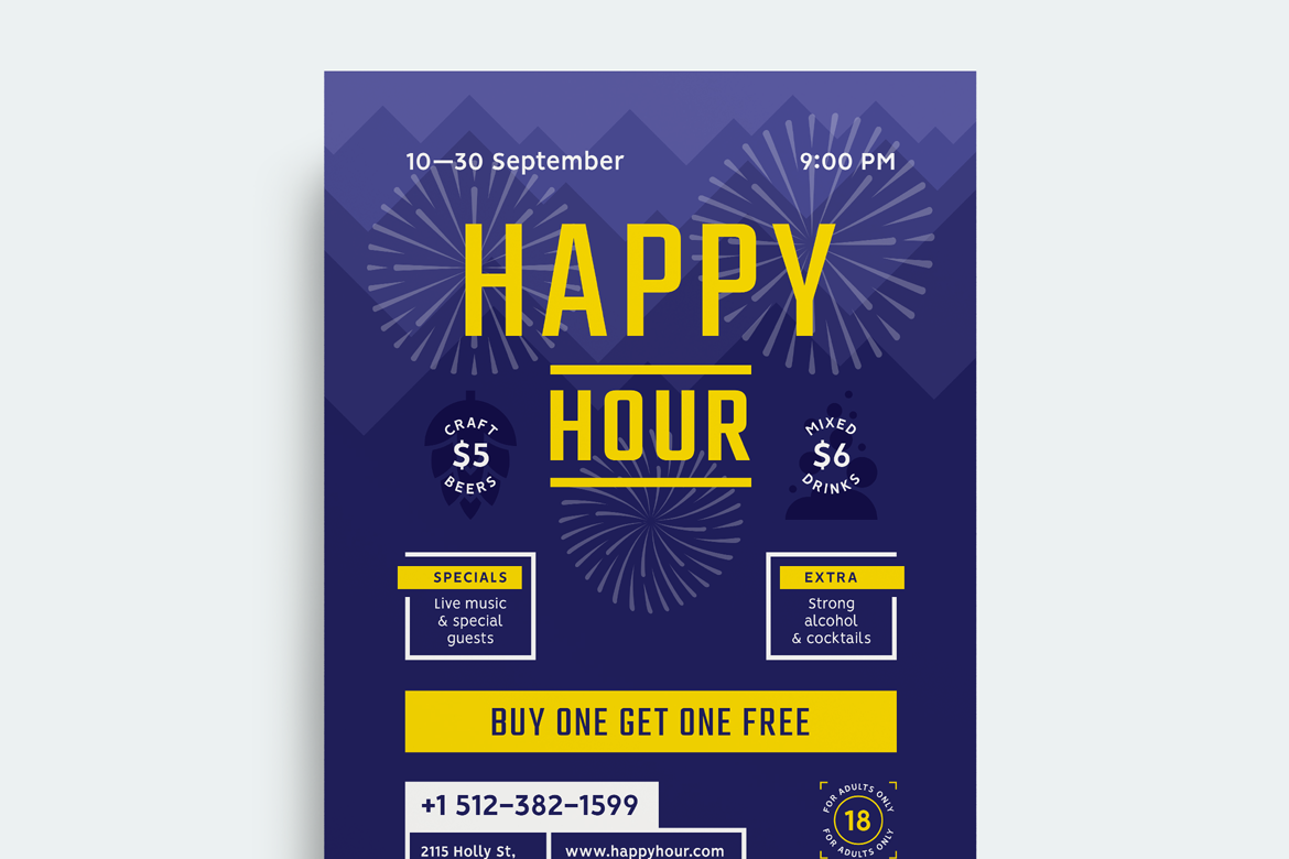 Happy hour poster preview  ee  1170x780px 02