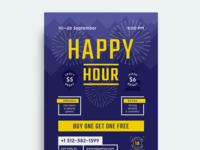 Happy Hour Beer Festival Poster vol.2