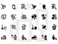 Basicons — Cleaning set