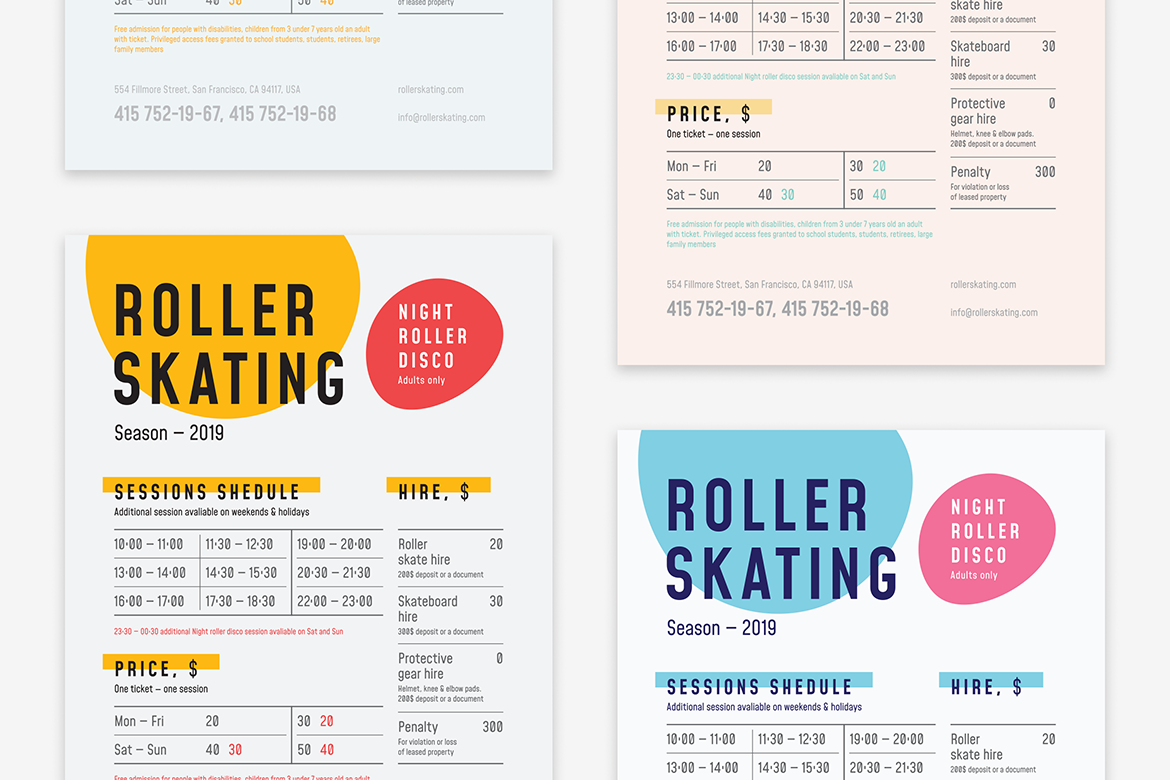 Roller schedule poster preview  ee  1170x780px 03