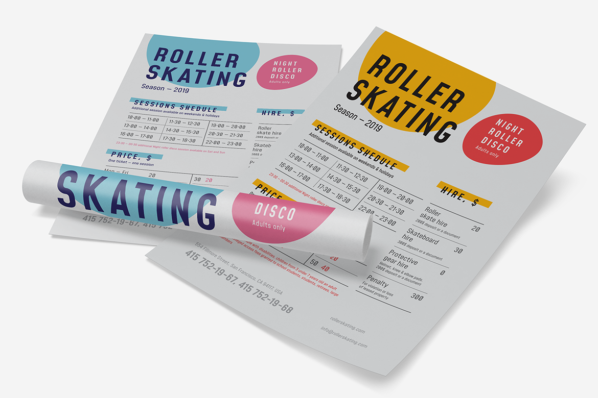 Roller schedule poster preview  ee  1170x780px 04