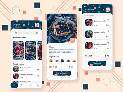 E-commerce mobile app - DailyUI 012 dailyui minimal simple trends ui design design illustration ui ux ux ui mobile design mobile app e-commerce