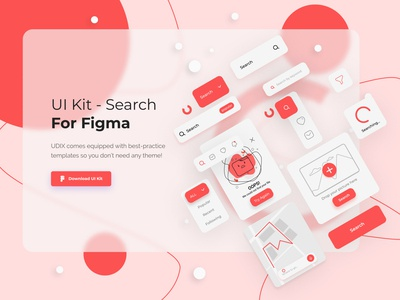 UI Kit - Search 022 webdesign web search bar search filters flat ui design ui kit uiux trends inspiration icon minimal ux ui illustration design dailyui