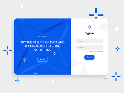 Sign In Page Design webdesign uiux inspiration branding x sign in neumorphism trends minimal ux illustration ui design