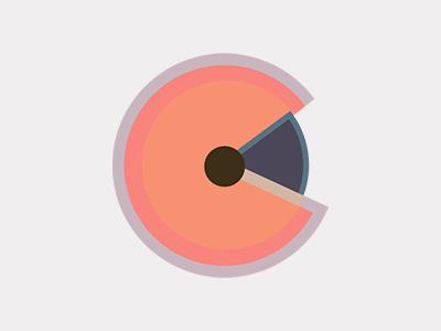 Circles logo design circles color illustration