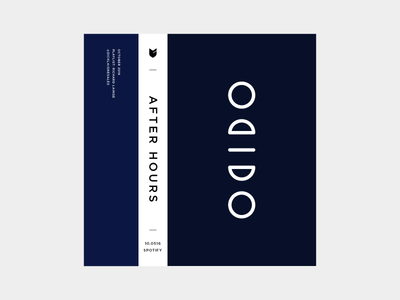 Playlist Cover icon color block typography cassette music