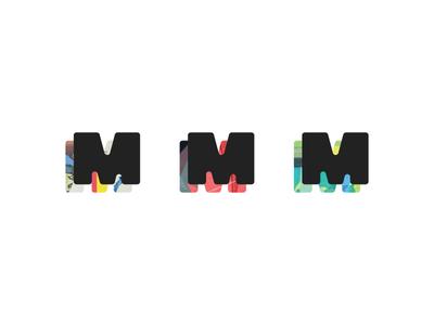 Makeready Secondary Mark m logo identity