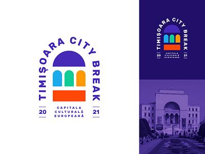 Timisoara city opera timisoara logo mark