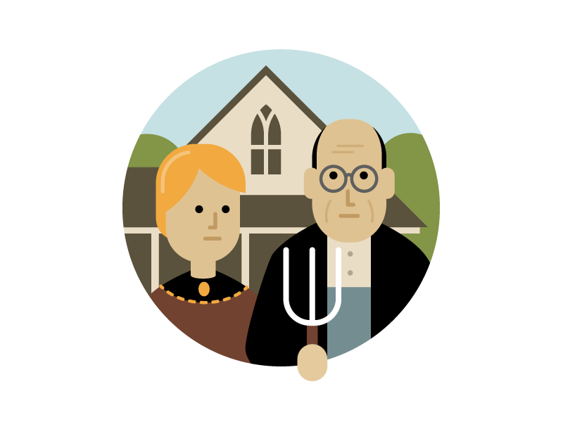 American Gothic By Catalin Mihut