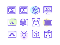 3d Printing Icons