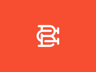 B + C branding brand mark logo
