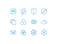 Solution Icons features video encoding icon
