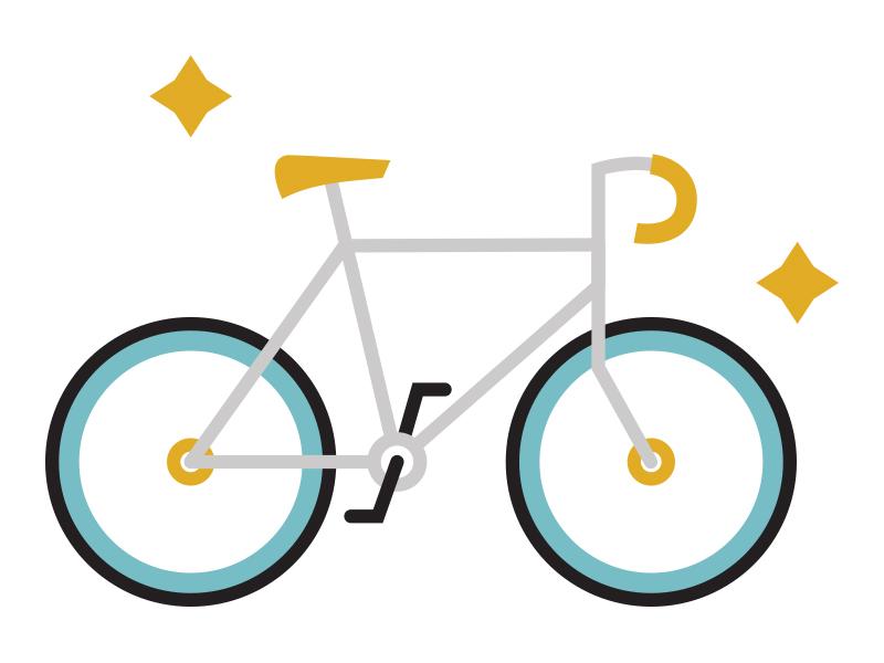 Bike Illustration/Icon illustration bike icon