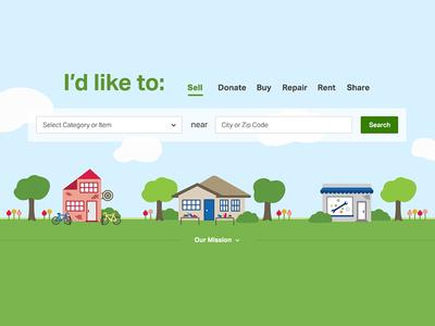 Illustrative Search Lead-in search illustration