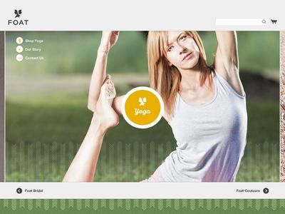 Website Home Page Concept website