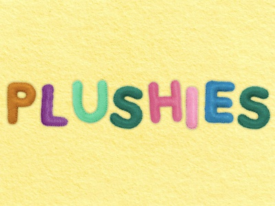 Plushies Bitmap Font lettering typography font bitmap photography paperless post