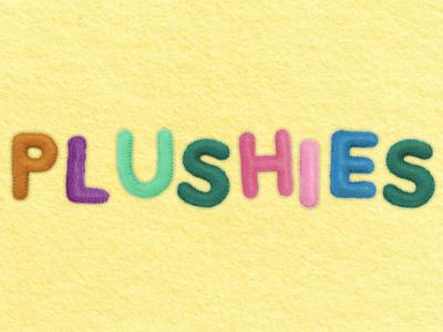 Plushies Bitmap Font