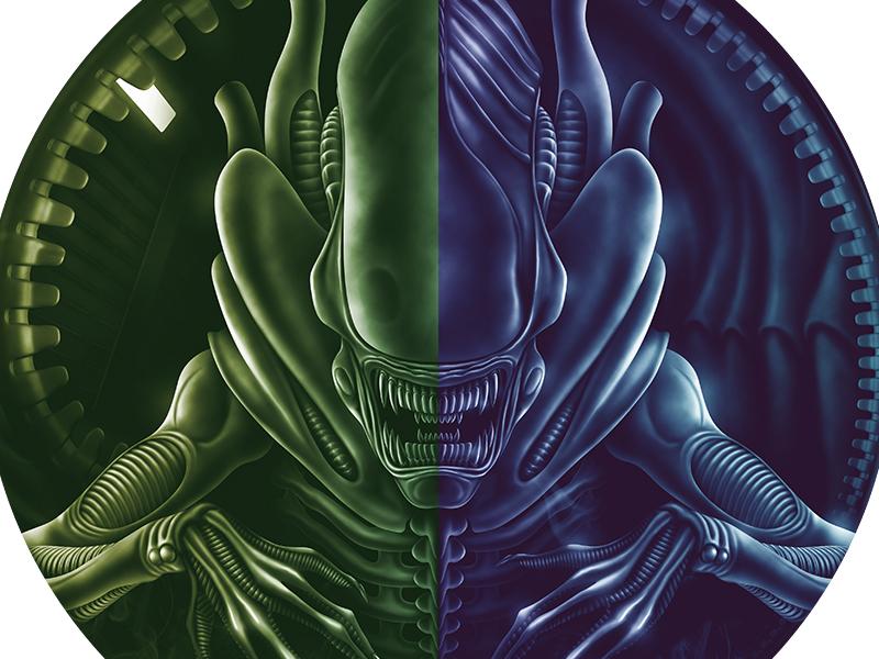 Alien + Aliens prometheus giger sci-fi datamouth fanart illustration lv426 aliens alien