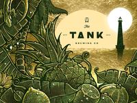 Tank IPA Illustration