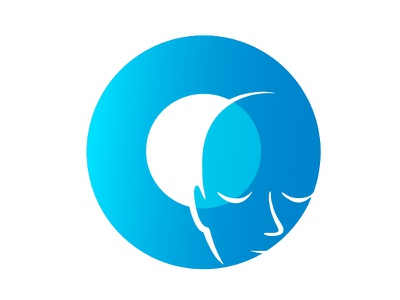 Clarity Logo circle face logo