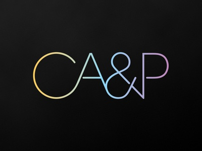CA&P Law Firm logo logo type