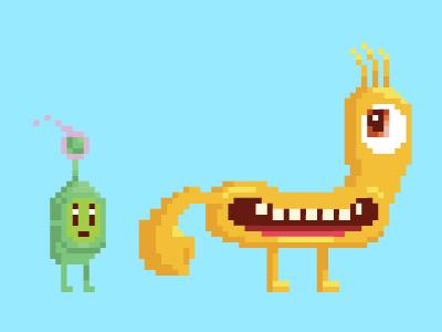 Frendz - pixel datamouth video game pixel friends