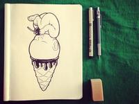 vanilla baby ~ original sketch