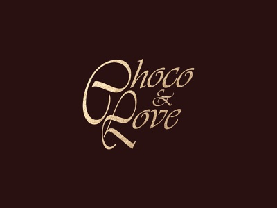 Choco&Love vector mark icon ideas identity branding identity design chocolate packaging chocolate logo branding design illustration