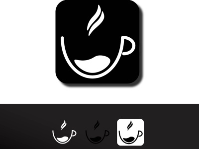 COFFEE CUP simple design simple logo simplicity coffee cup coffee icons line logo minimalist logo icon illustration idea logotype creative design logo