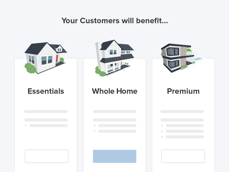 🏠 Super Plan Icons price plan vector benefits icons illustration house home hellosuper super